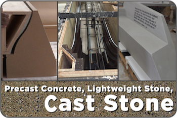 Precast Concrete, Light Weight Stone & Cast Stone