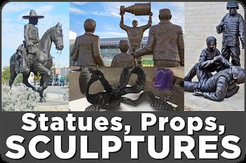 Props Statues Sculptures