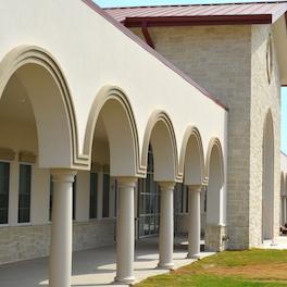 St Martin School Exterior Architectural Foam